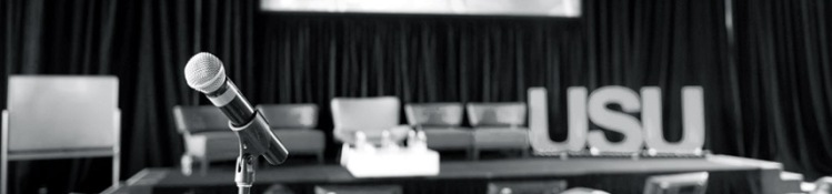microphone banner image (bw)
