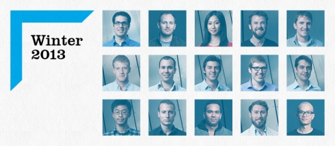 Winter startups founders faces