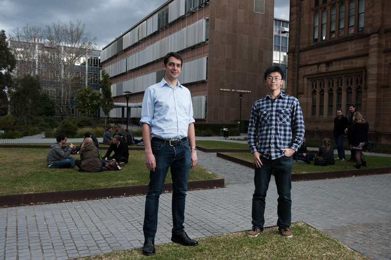 Founders of Neighbourhood Networks, Rainer Wasinger and Harry He