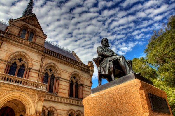 Adelaide University HDR photo