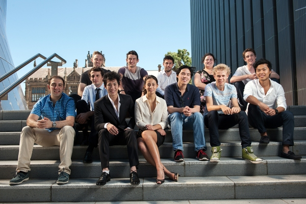 Incubate startup founders group shot