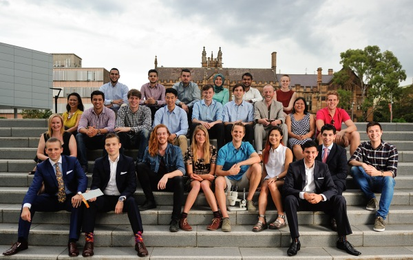 The entrepreneurs in the INCUBATE Summer Startups at Sydney University